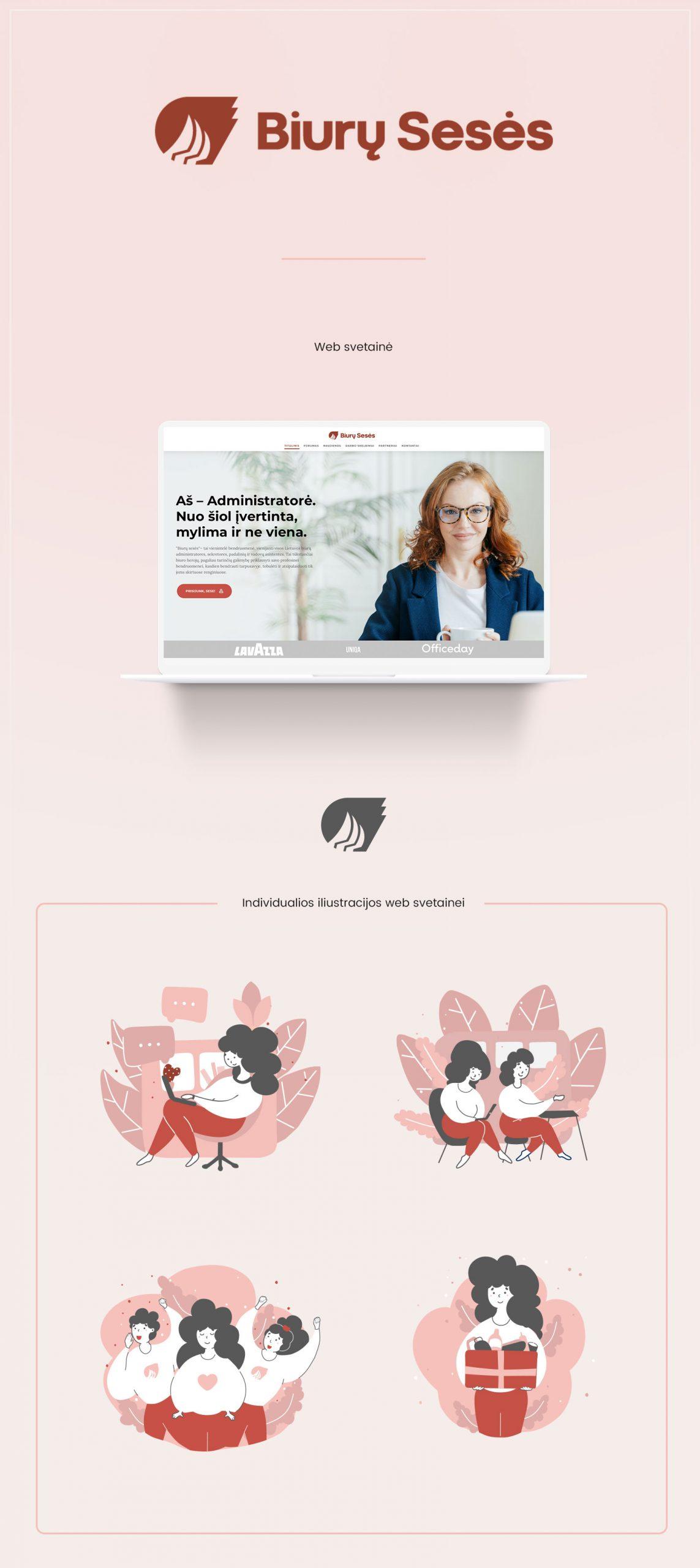 biuru-seses-logotipas-ir-internetines-svetaines-kurimas-Klaipeda